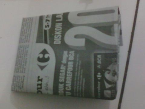 Masih Dibungkus Koran